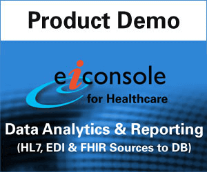 HL7, EDI & FHIR Data Integration for Reporting & Analytics