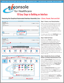 10 Steps to Build a Healthcare Interface