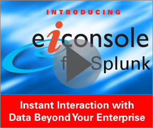 eiConsole for Splunk Video