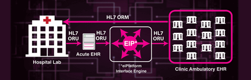 HL7 Integration Case Study with EHRs and Hospital Lab